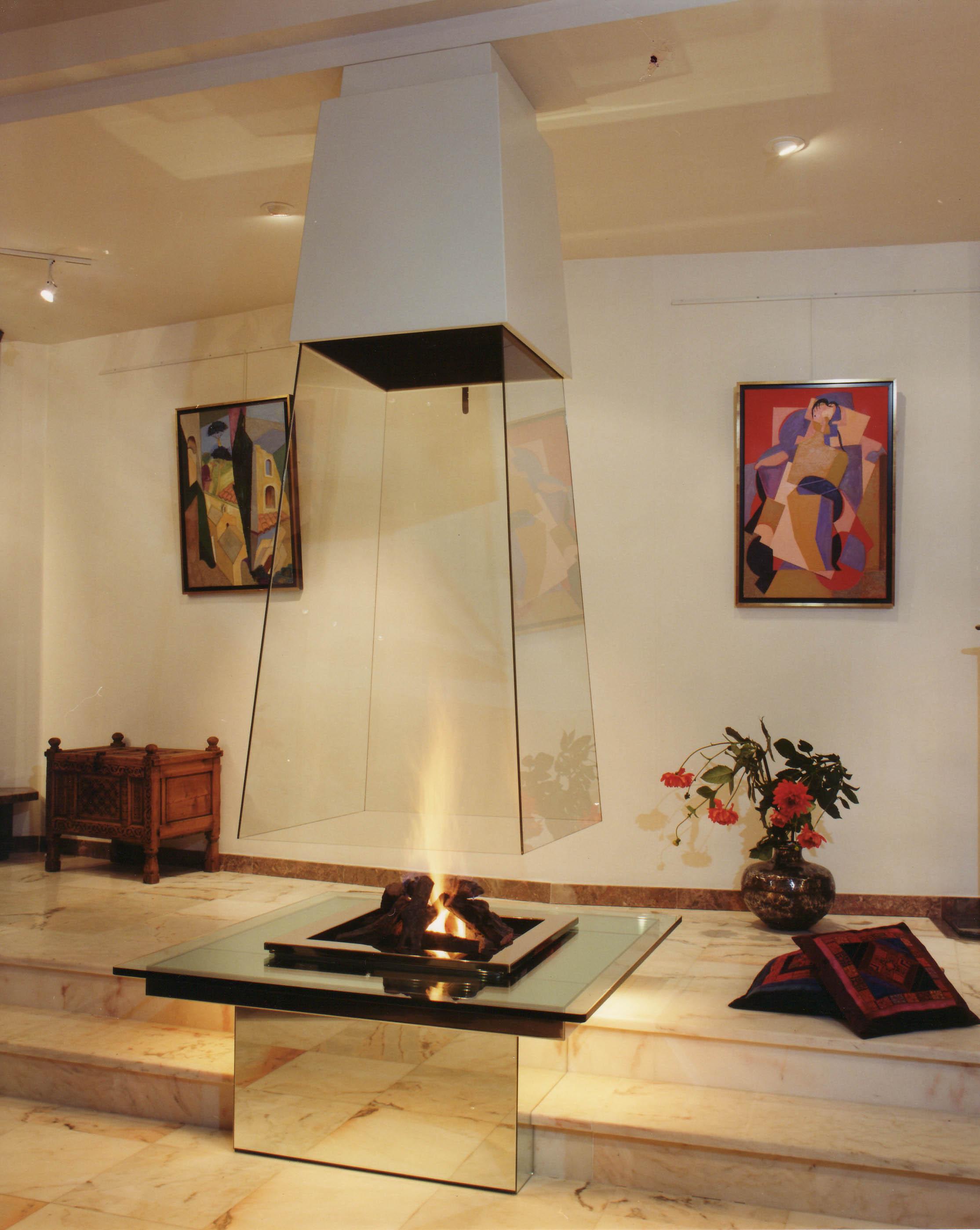 Showroom cheminées   bloch design   cheminées contemporaines